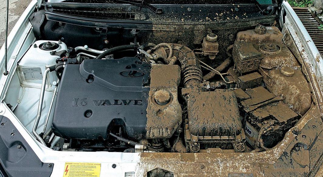 Мойка двигателя в Гомеле